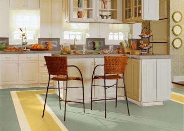 Линолеум для кухни: какой лучше выбрать?