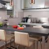 Дизайн маленькой кухни с барной стойкой (+55 фото)