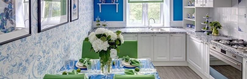 Кухня в стиле гжель: правила и советы оформления
