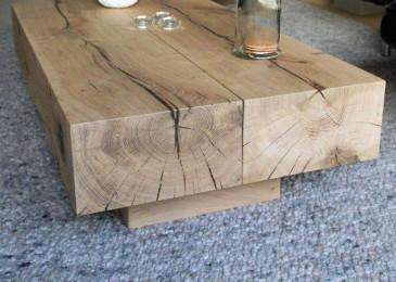 Деревянный стол — идей современной мебели из массива дерева