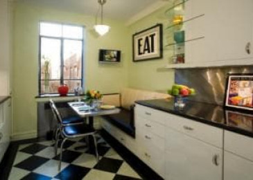 Кухня в стиле ретро: варианты интерьера и дизайн