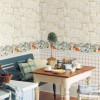 Комбинирование обоев на кухне — варианты, достоинства, сочетания