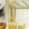 Как использовать шторы-нити в интерьере кухни