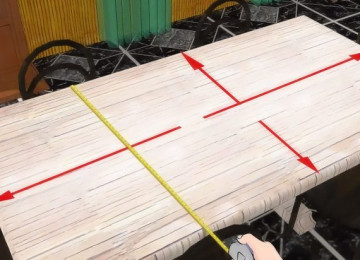 Стандартный размер скатерти на стол