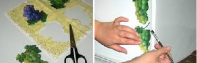 Декор холодильника: варианты и идей дизайна своими руками
