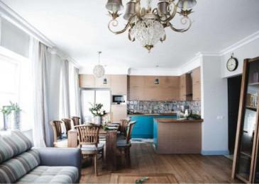 Кухня-гостиная 18 кв