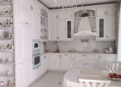 Кухни в классическом стиле: подробная инструкция