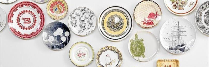 Как повесить на стену декоративную тарелку