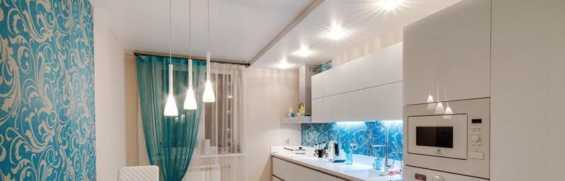 Какой потолок лучше сделать на кухне — обзор вариантов