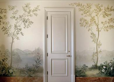 Рисунки на стенах: стильное украшение любой комнаты (75 фото), разновидности