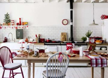 Как украсить кухню к Новому году: лучшие идеи новогоднего декора