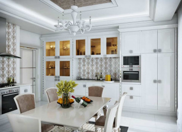 Кухня в стиле арт-деко: дизайн интерьера и варианты оформления