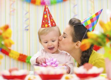 Меню на детский стол и идеи оформления на День Рождения ребенка