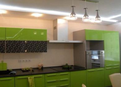 Потолки из гипсокартона на кухне: виды, дизайн, монтаж
