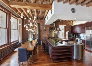 Барная стойка между кухней и гостиной: варианты дизайна