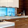 Акриловый фасад для кухни (+55 фото)