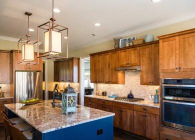 Эффективная организация освещения на кухне: правила и требования