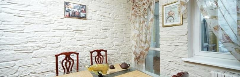 Кухонный фартук из искусственного камня: инструкция по выбору и монтажу