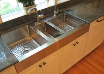 Размеры мойки на кухне: как выбрать, стандарты, разновидности