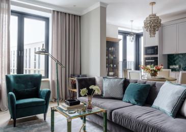 Современный дизайн кухни-столовой-гостиной: планировки, идеи интерьера