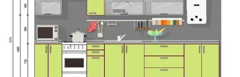 Навесные шкафы для кухни: как выбрать материал, форму и размер