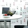 Обои для кухни: виды, материалы, цвета, стиль и дизайн