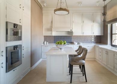 Классическая кухня с островом: функции, материал, стиль