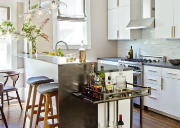 Расставляем мебель на кухне правильно