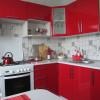 Красно-белая кухня: особенности, варианты, идеи