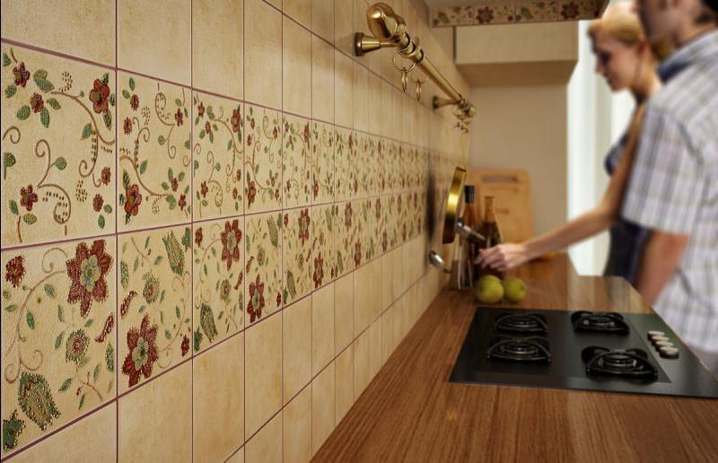 Кафель кухня дизайн