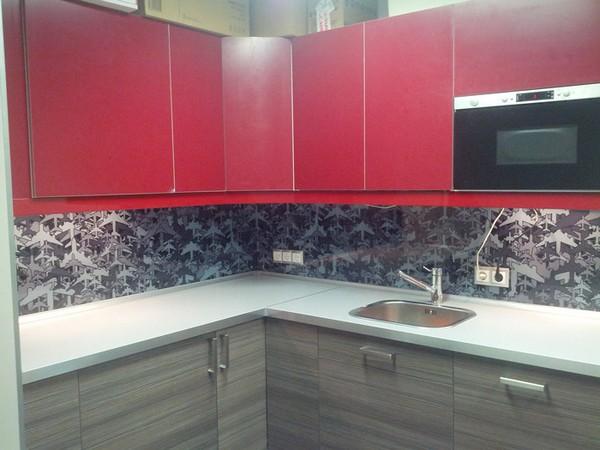 Дизайн из панелей пвх на кухне
